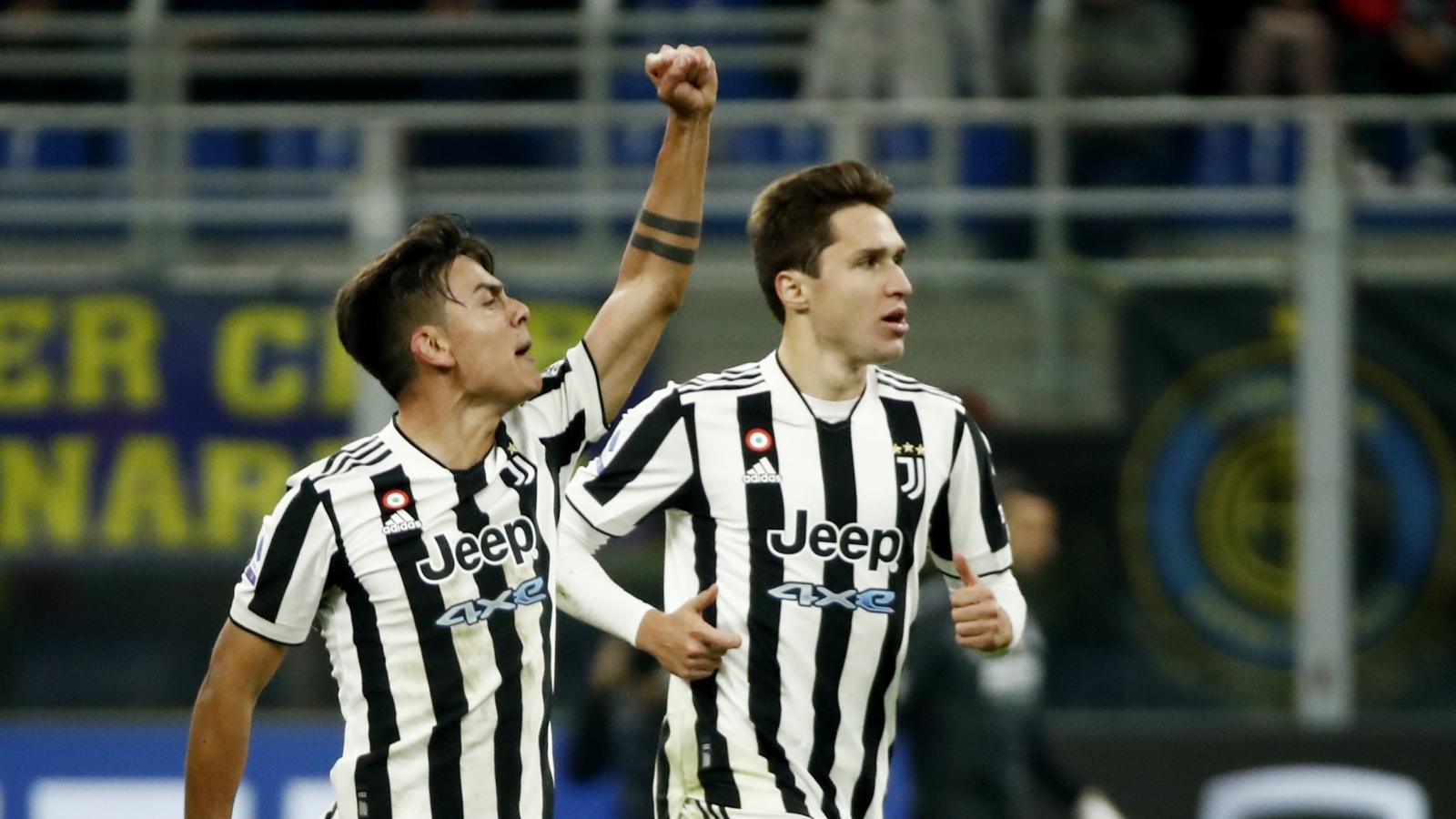 Dybala ghi bàn ở phút 89, Juventus thoát thua trước Inter Milan