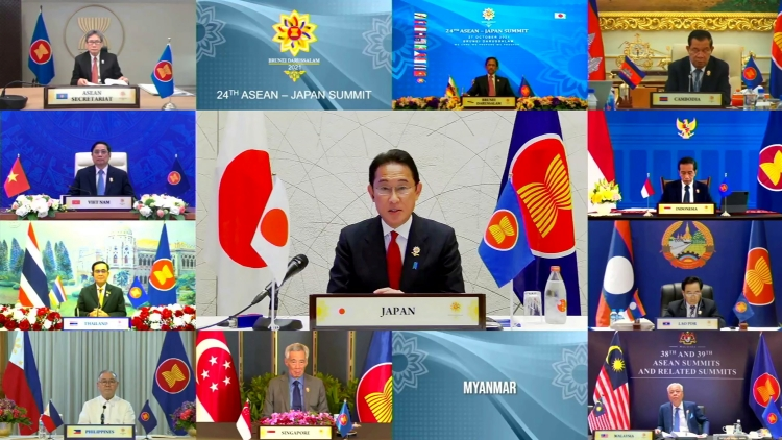 Nhật Bản tăng cường hợp tác với ASEAN để duy trì hòa bình, tự do và thịnh vượng trong khu vực