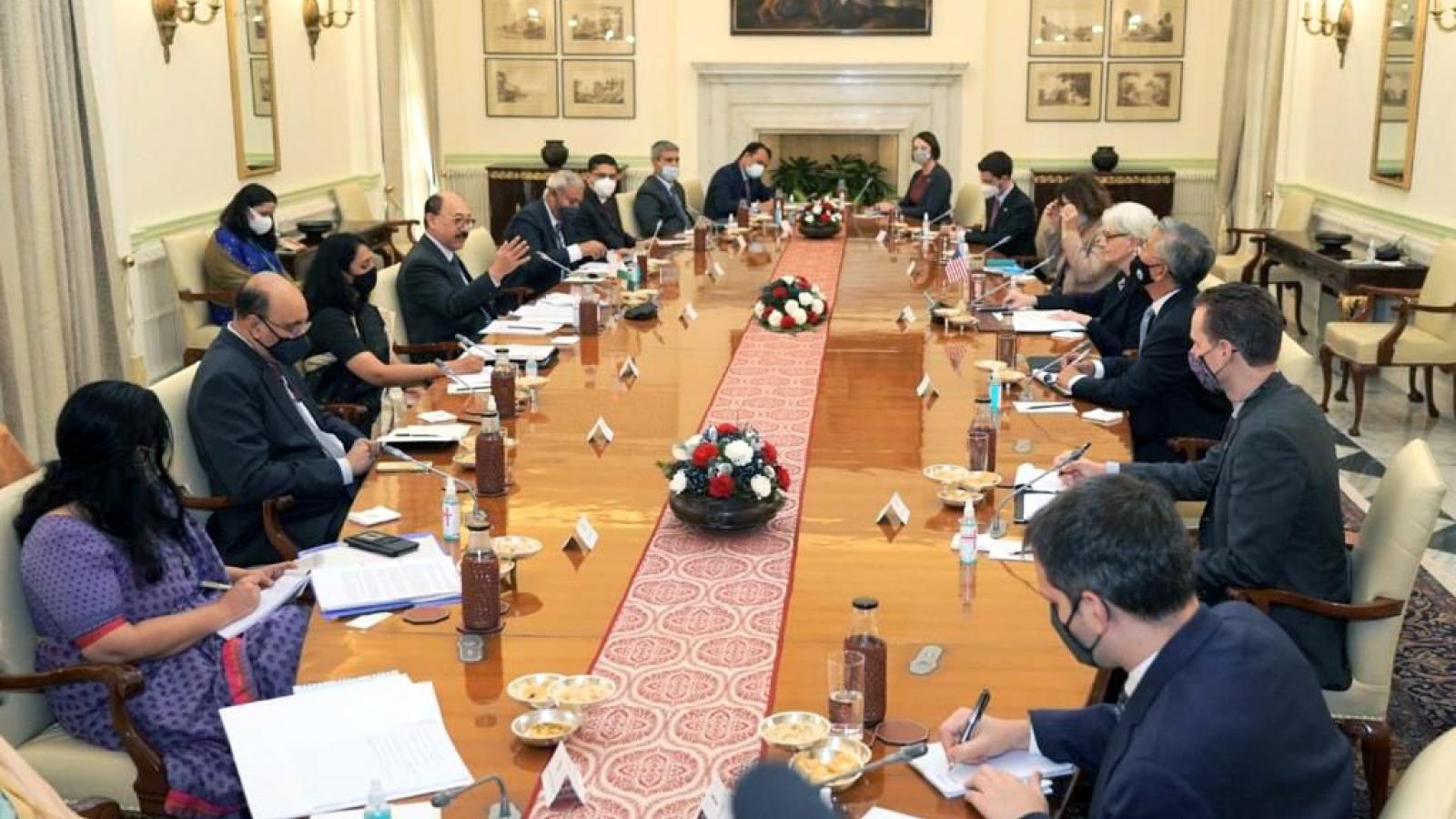 Ấn Độ và Mỹ ủng hộ trật tự quốc tế dựa trên luật lệ