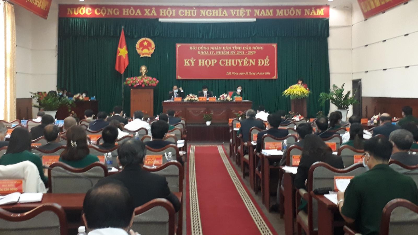 HĐND tỉnh Đắk Nông chuyển 640 ha đất ra ngoài quy hoạch rừng để cấp sổ đỏ cho dân
