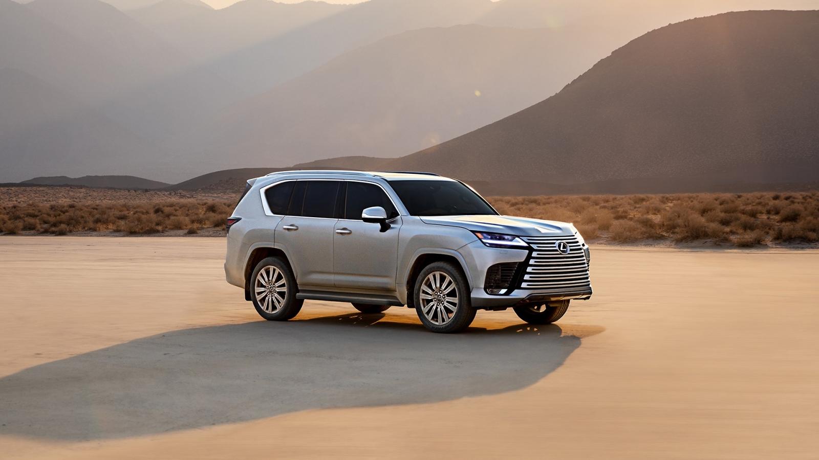 Lexus LX 600 2022 - mẫu SUV hạng sang cho những đại gia
