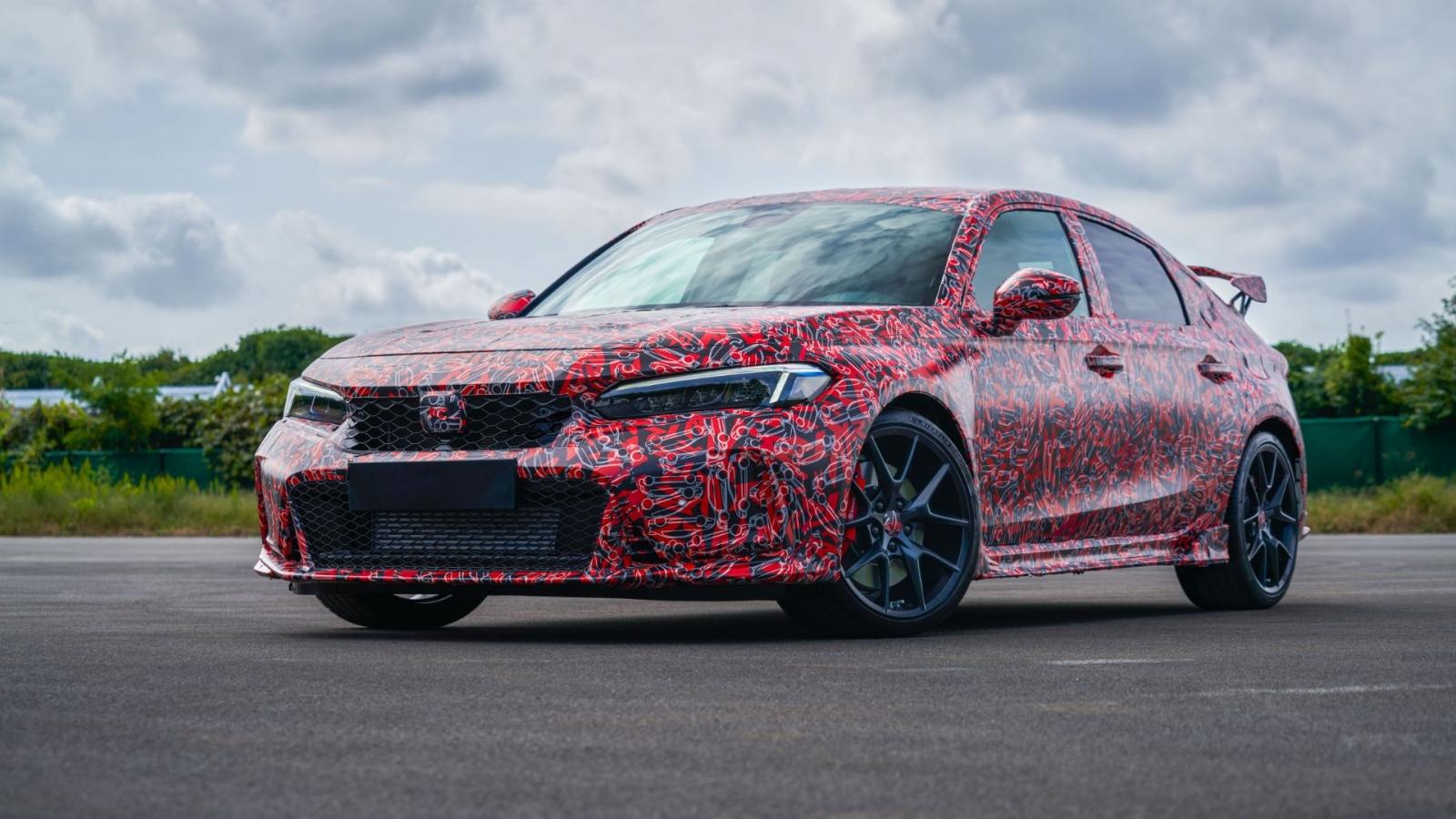 Lộ diện Honda Civic Type R mới sắp ra mắt