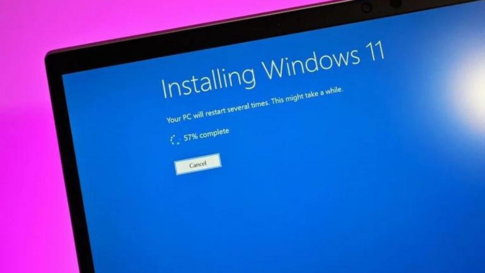 Ba giải pháp cài đặt Windows 11 không qua Microsoft