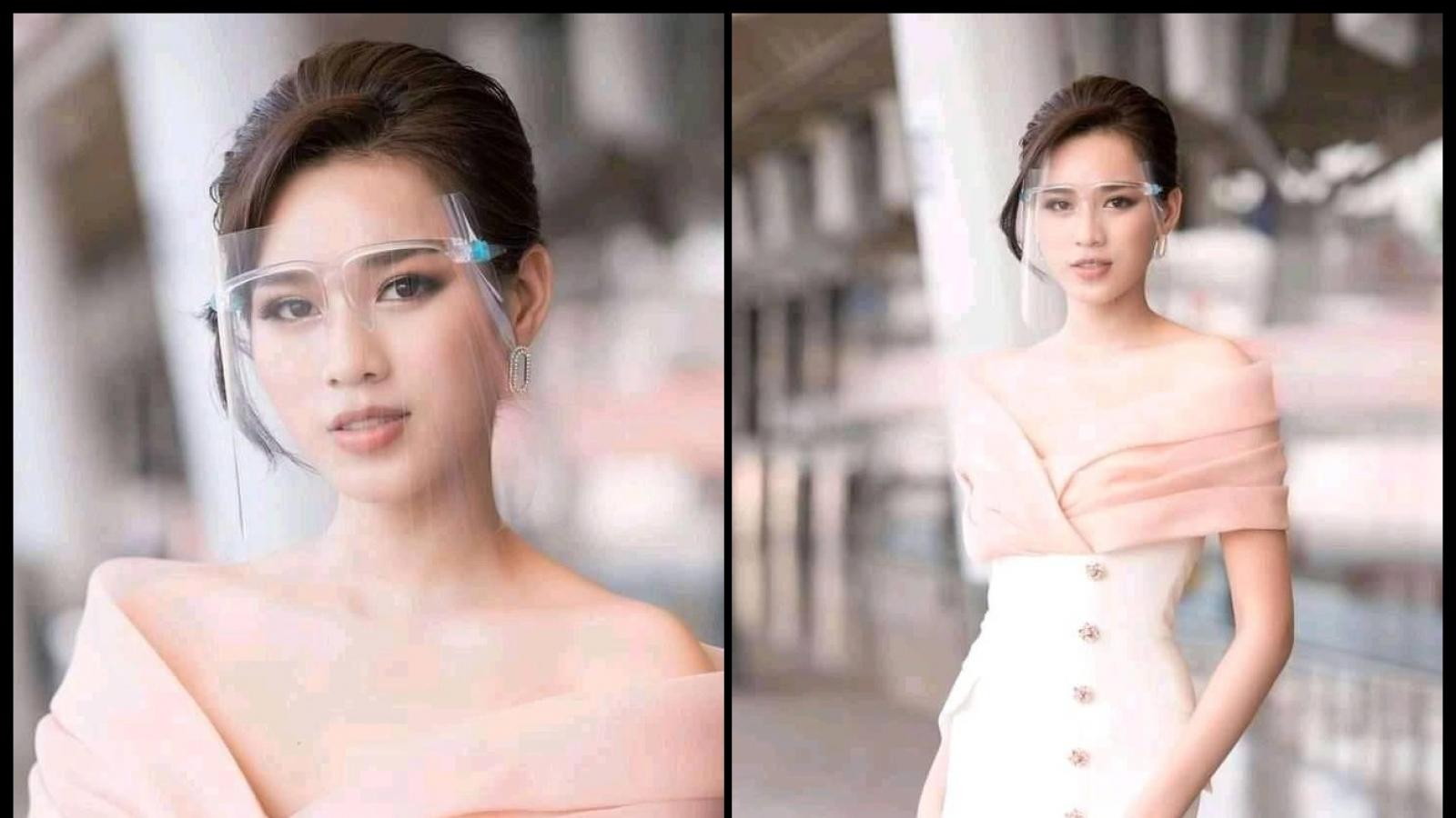 Chuyện showbiz: Hoa hậu Đỗ Thị Hà khoe vai trần gợi cảm và vóc dáng quyến rũ
