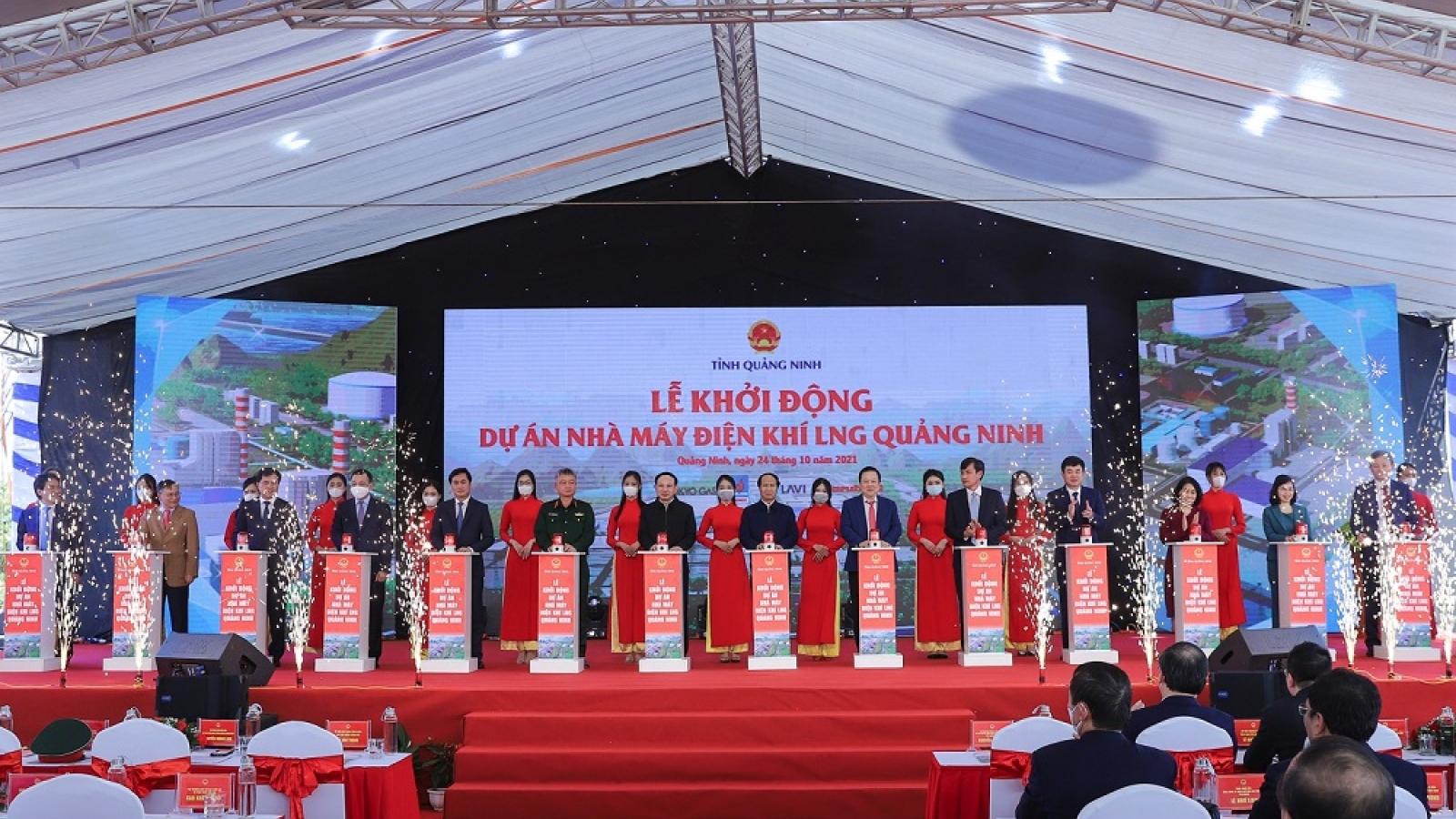 Quảng Ninh khởi công, khởi động 4 dự án 280.000 tỷ đồng trong cùng 1 ngày