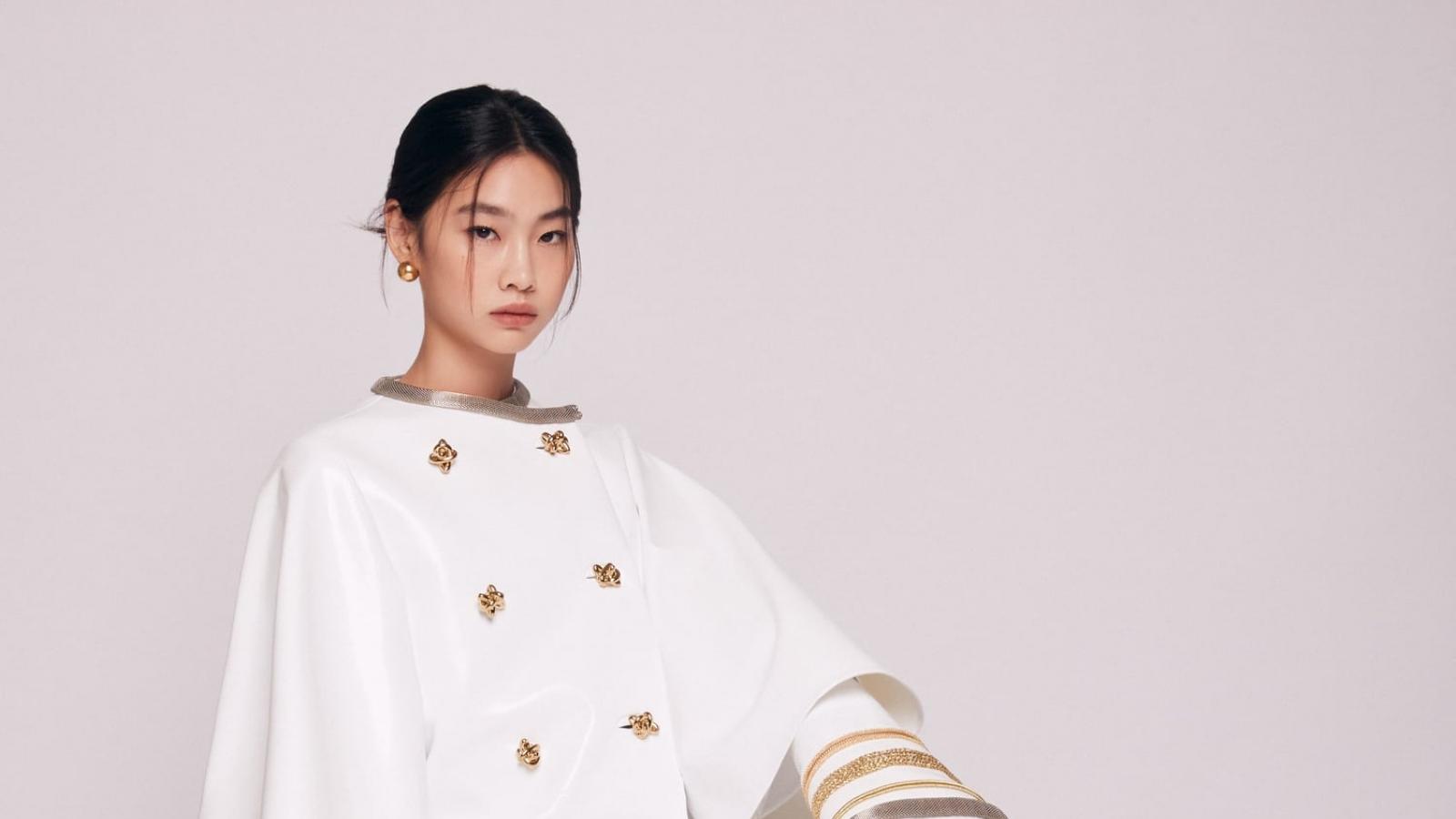 """Hậu """"Squid game"""", Jung Ho Yeon được bổ nhiệm làm Đại sứ toàn cầu của Louis Vuitton"""