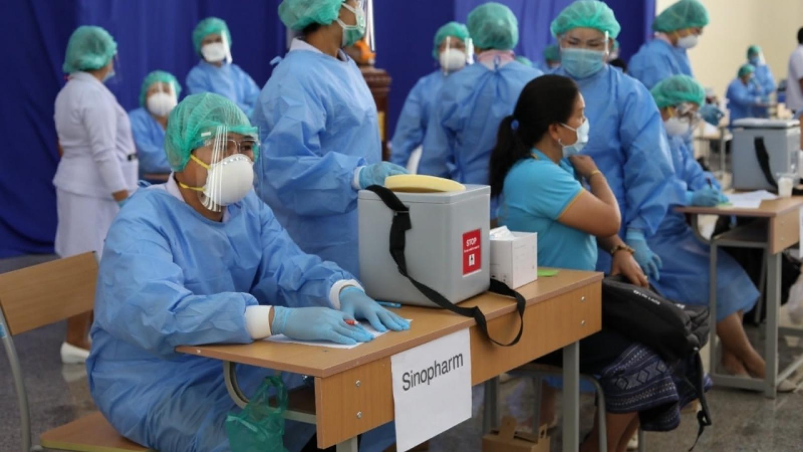 Hơn 84% số ca tử vong do Covid-19 tại Làochưa được tiêm vaccine
