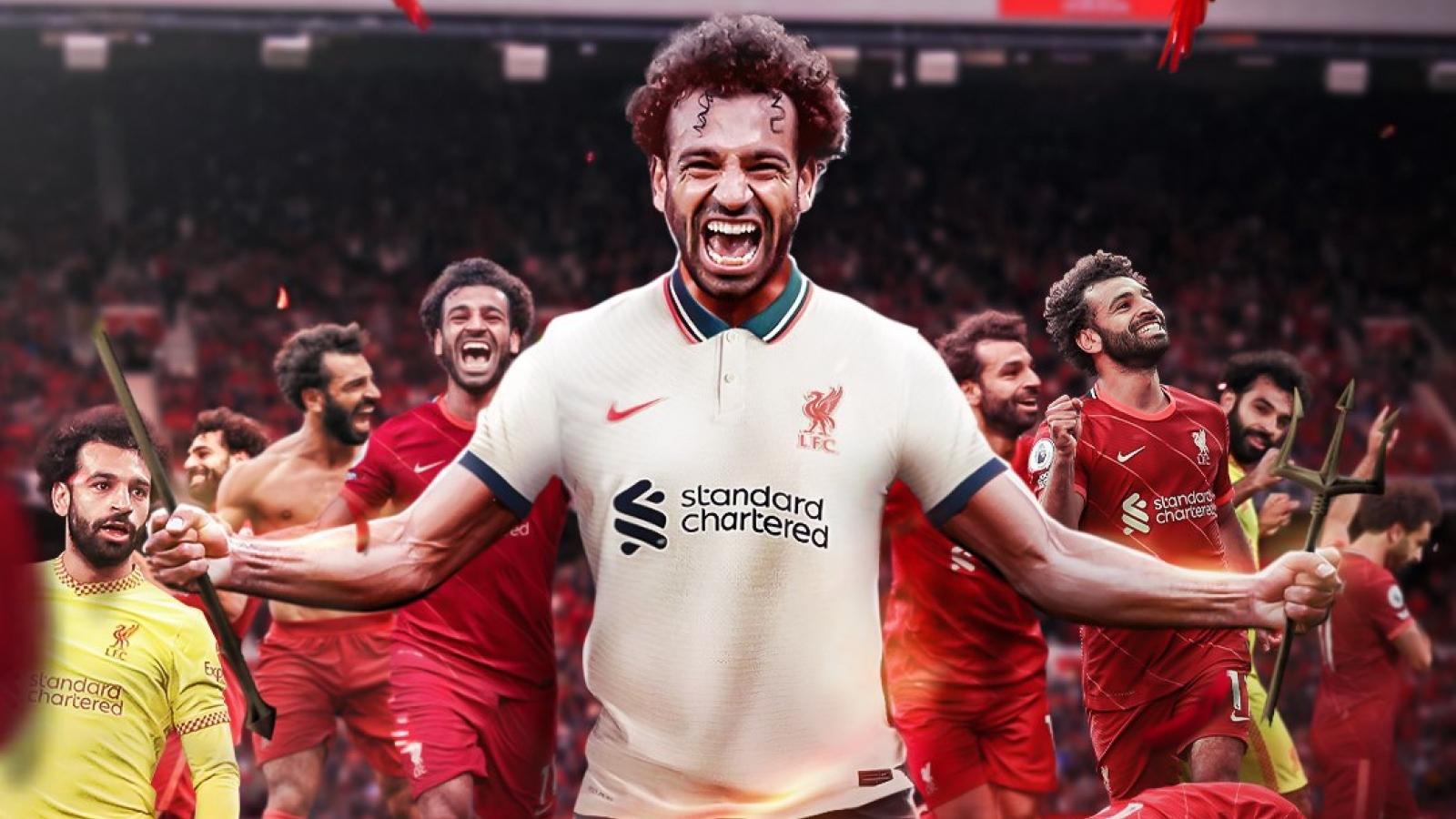 Biếm họa 24h: Mohamed Salah kéo sập Old Trafford