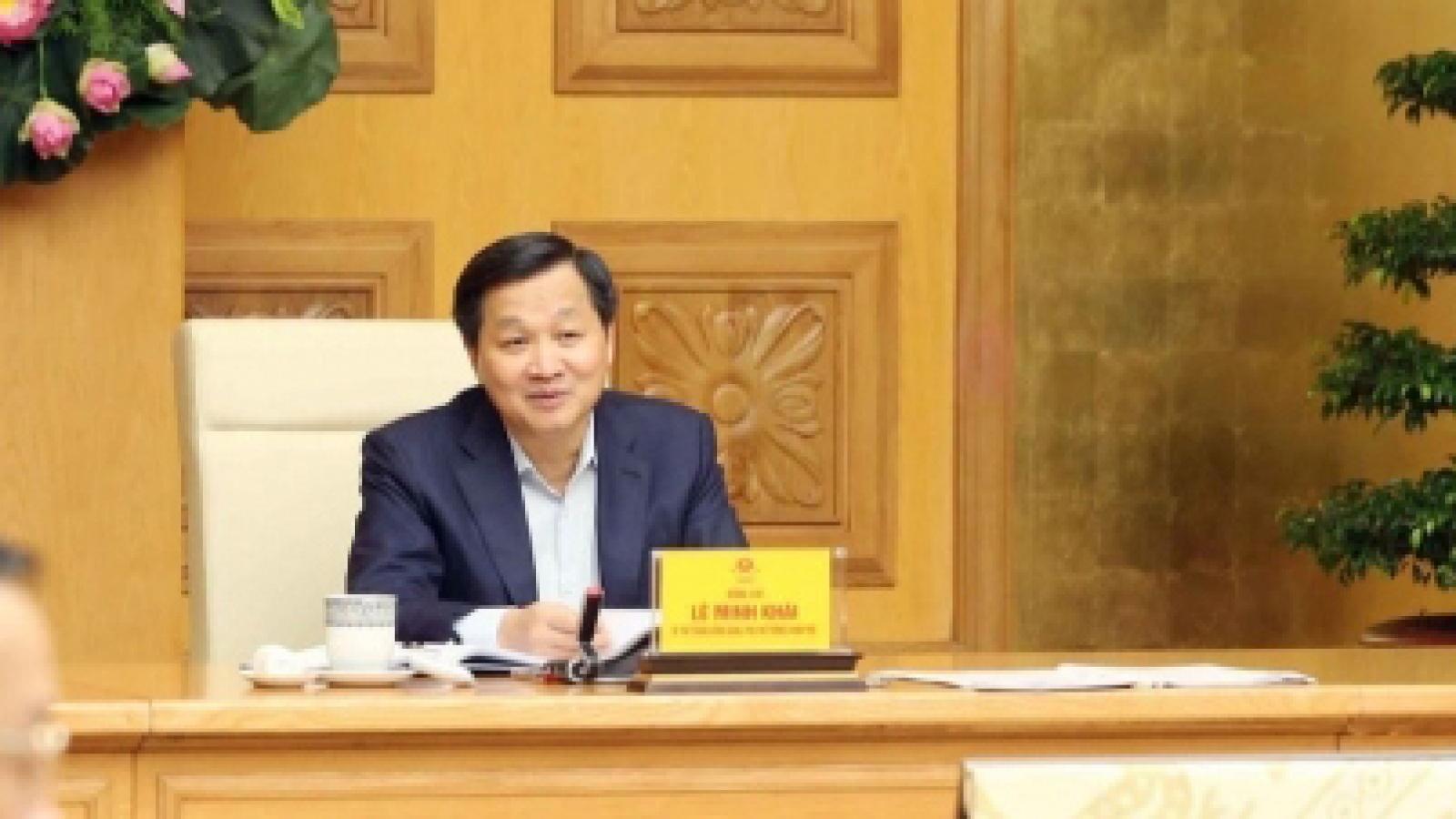 Phó Thủ tướng Lê Minh Khái: Theo dõi sát tình hình, điều hành giá chủ động, linh hoạt, hiệu quả