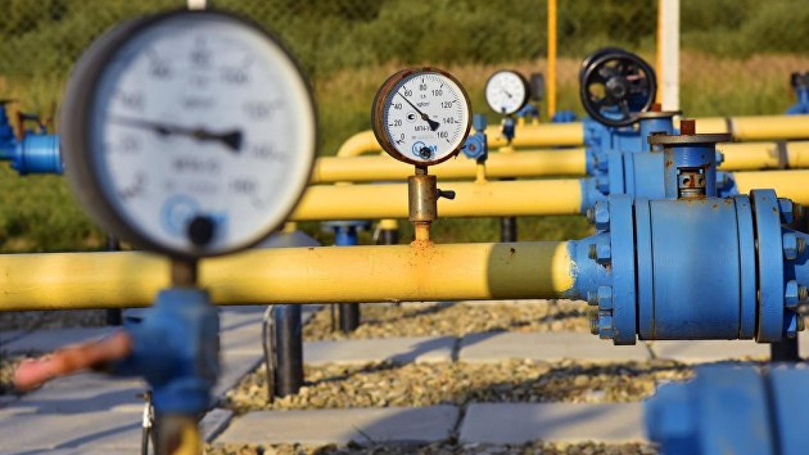 Nga tăng khối lượng khí đốt cho các cơ sở lưu trữ ở châu Âu