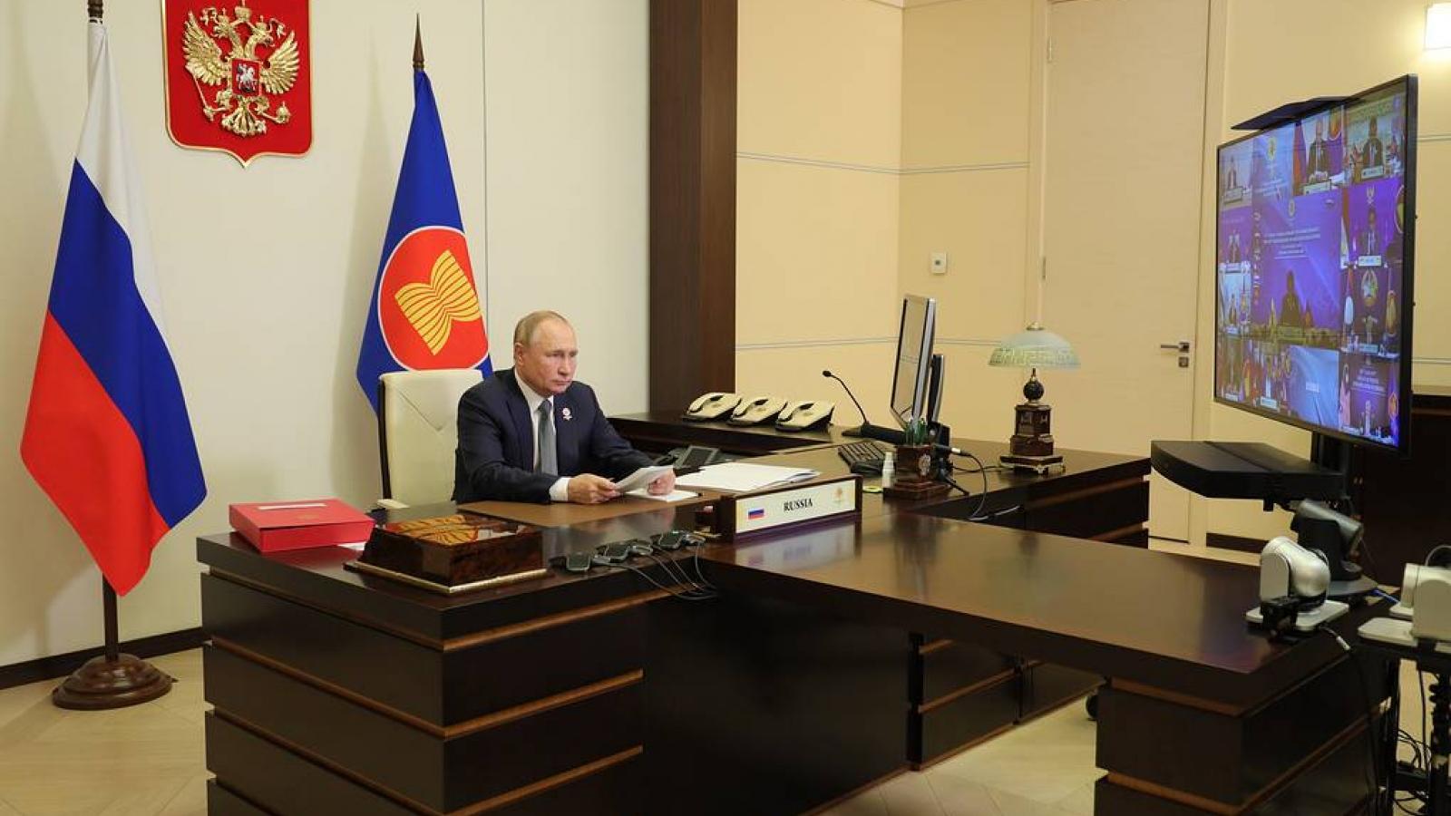 Tăng cường hợp tác giữa Nga và ASEAN trong tình hình mới