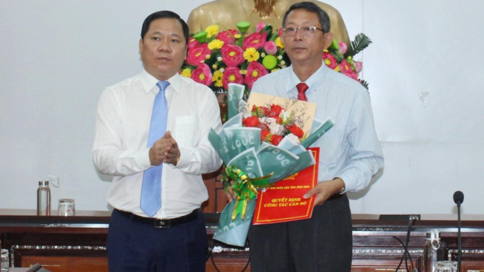 Bổ nhiệm Giám đốc, Phó giám đốc Sở Du lịch tỉnhBình Định