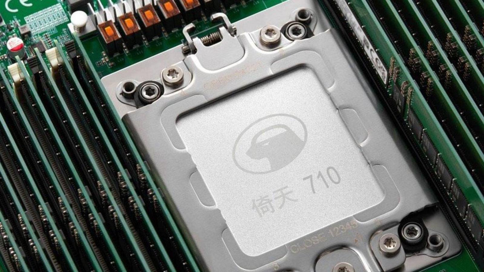 Alibaba ra mắt chip tiên tiến bậc nhất Trung Quốc