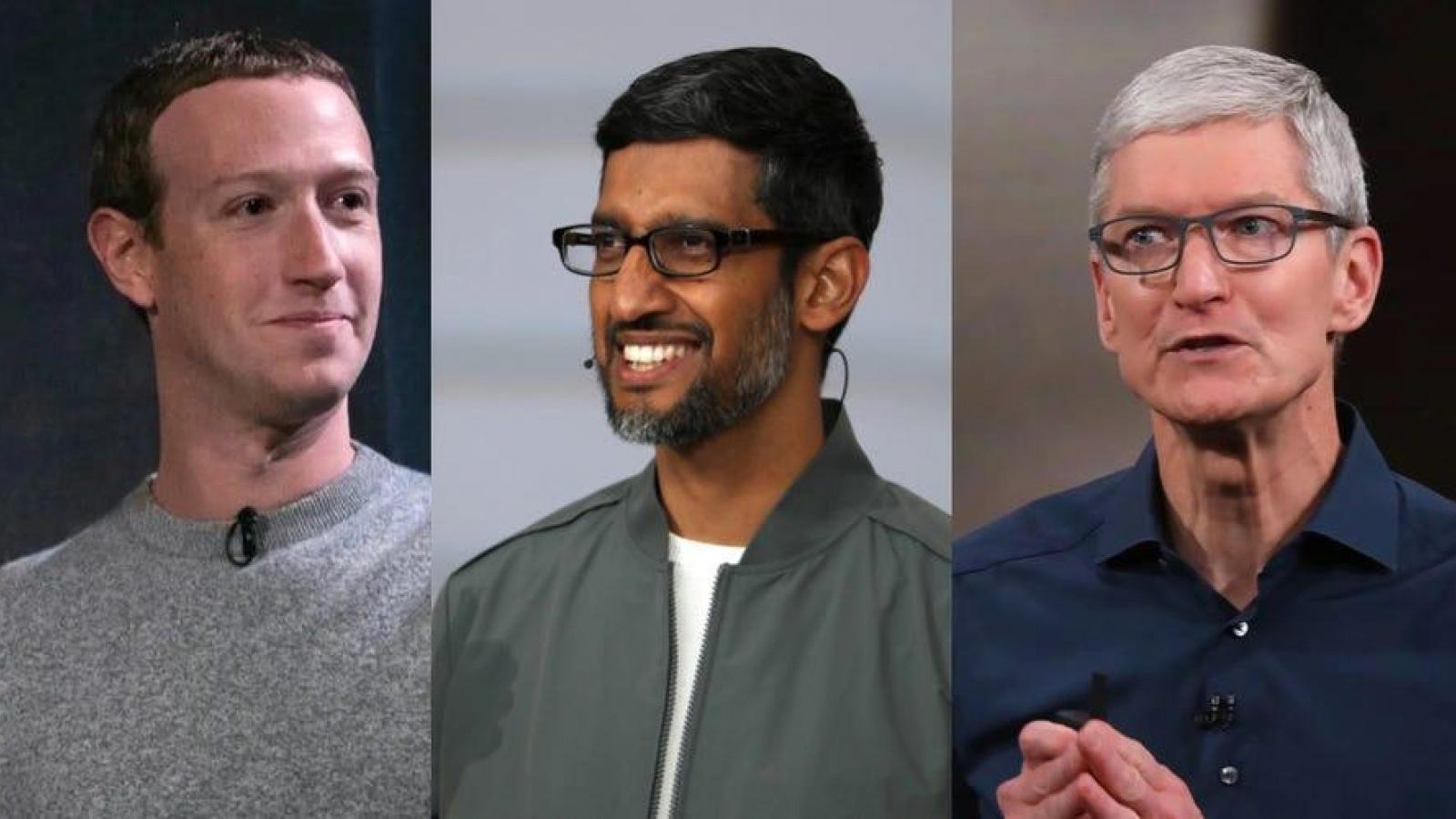 Facebook, Google bị tố bắt tay nhau chống Apple