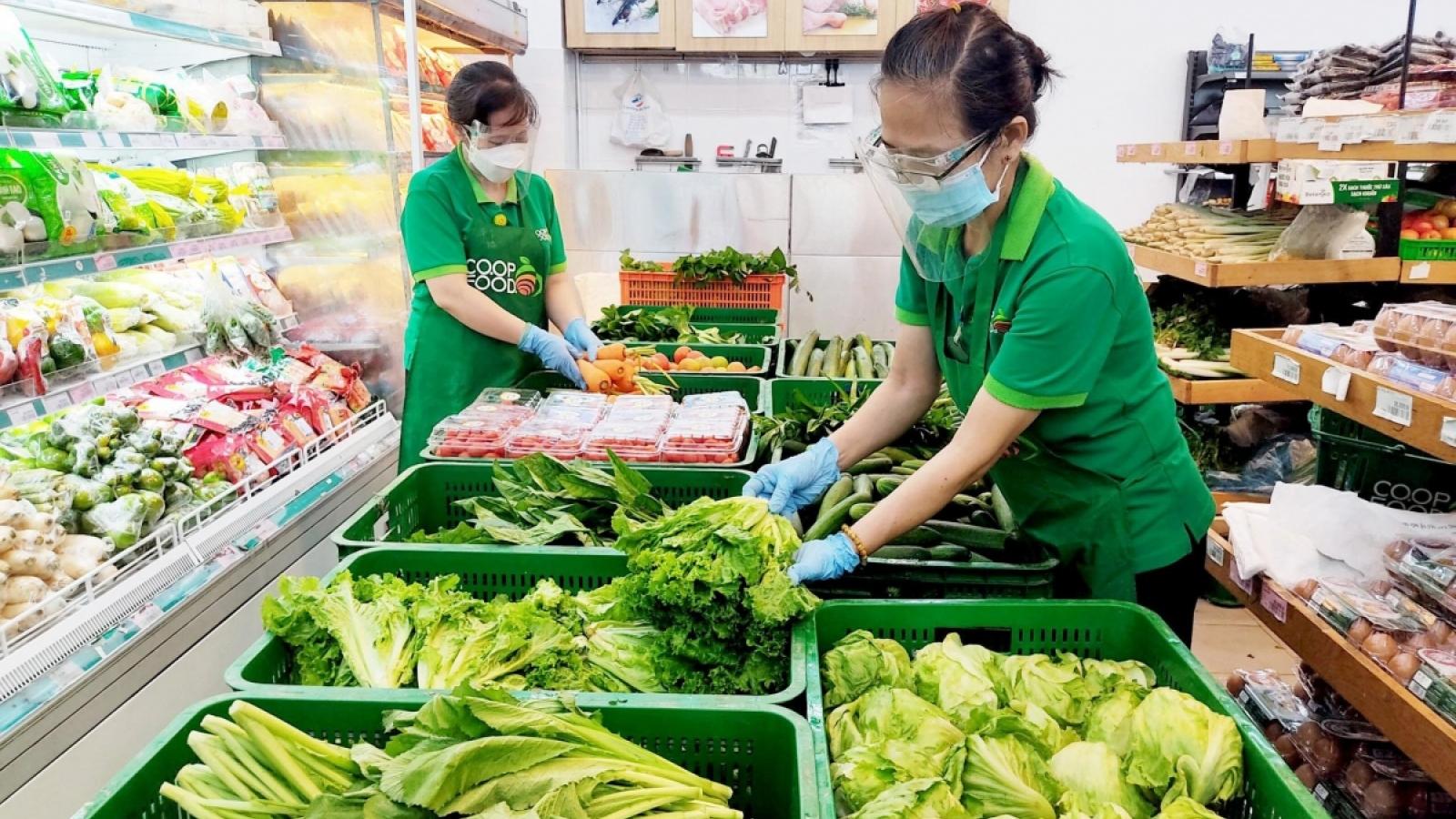 """Giá thực phẩm ở TP.HCM ổn định trở lại trong trạng thái """"bình thường mới"""""""