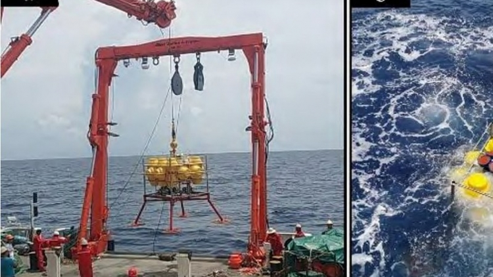 Trung Quốc thử nghiệm thiết bị phát hiện sóng nội gây nguy hiểm cho tàu ngầm ở Biển Đông