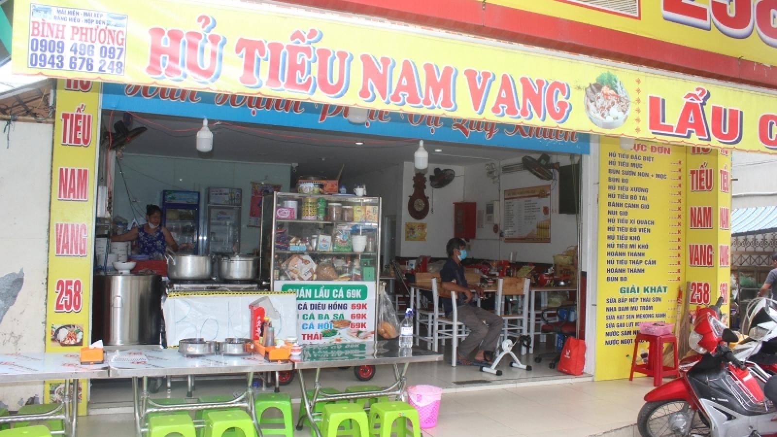 TP.HCM cho phép kinh doanh ăn uống tại chỗ từ ngày 28/10