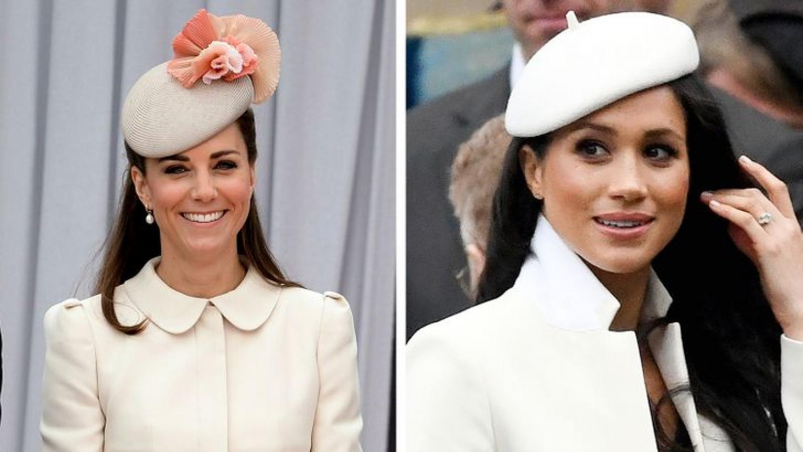 Đọ phong cách thời trang của Kate Middleton và Meghan Markle