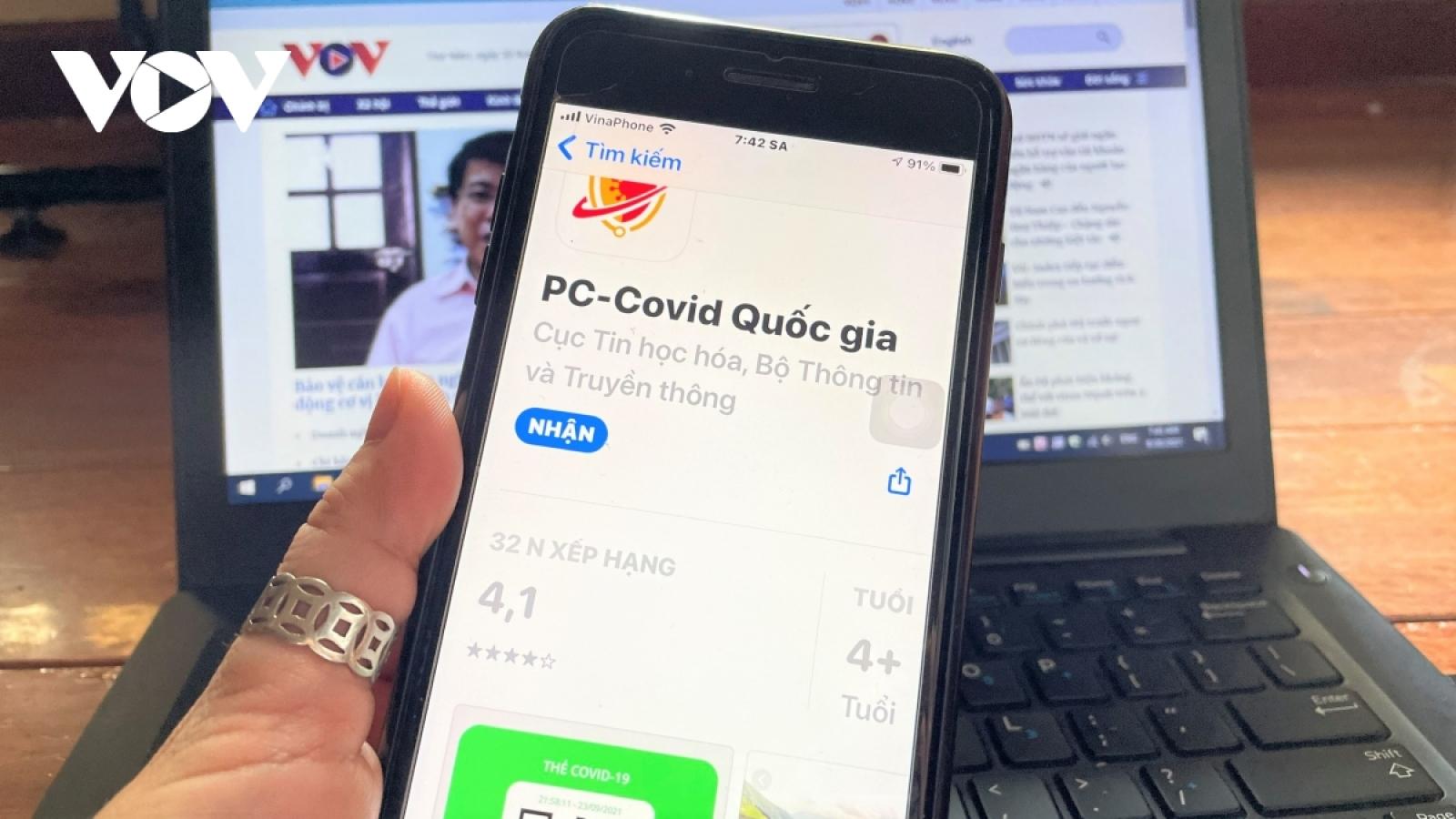 Cảnh báo lộ lọt thông tin cá nhân khi chia sẻ mã QR thẻ COVID-19