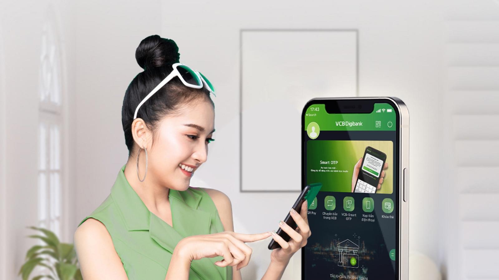 Nghìn tiện lợi khi đăng ký Dịch vụ Trả góp linh hoạt thẻ tín dụng quốc tế Vietcombank