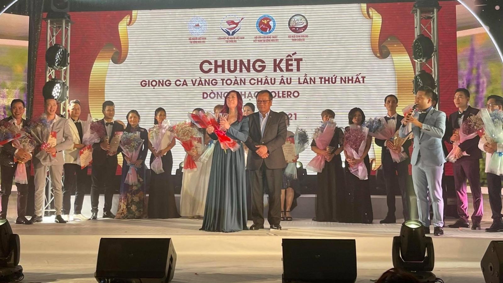 Lan tỏa tinh thần đoàn kết người Việt tại cuộc thi giọng ca vàng toàn châu Âu