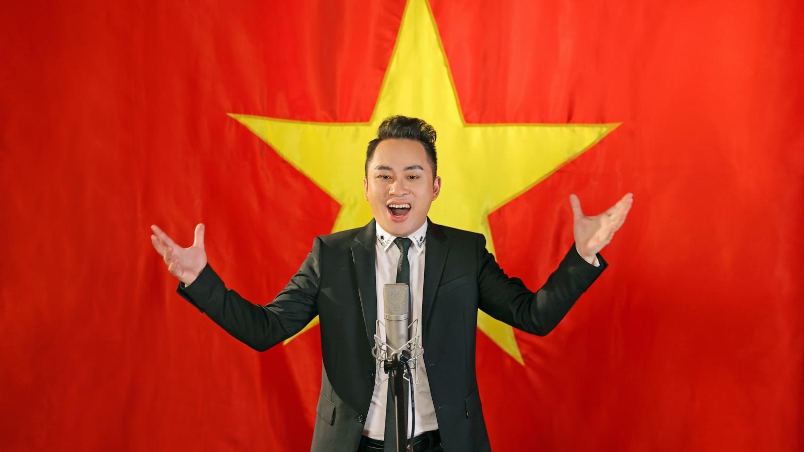 """Tùng Dương thử thách làm mới """"Quốc ca"""" để thể hiện niềm tự hào dân tộc"""