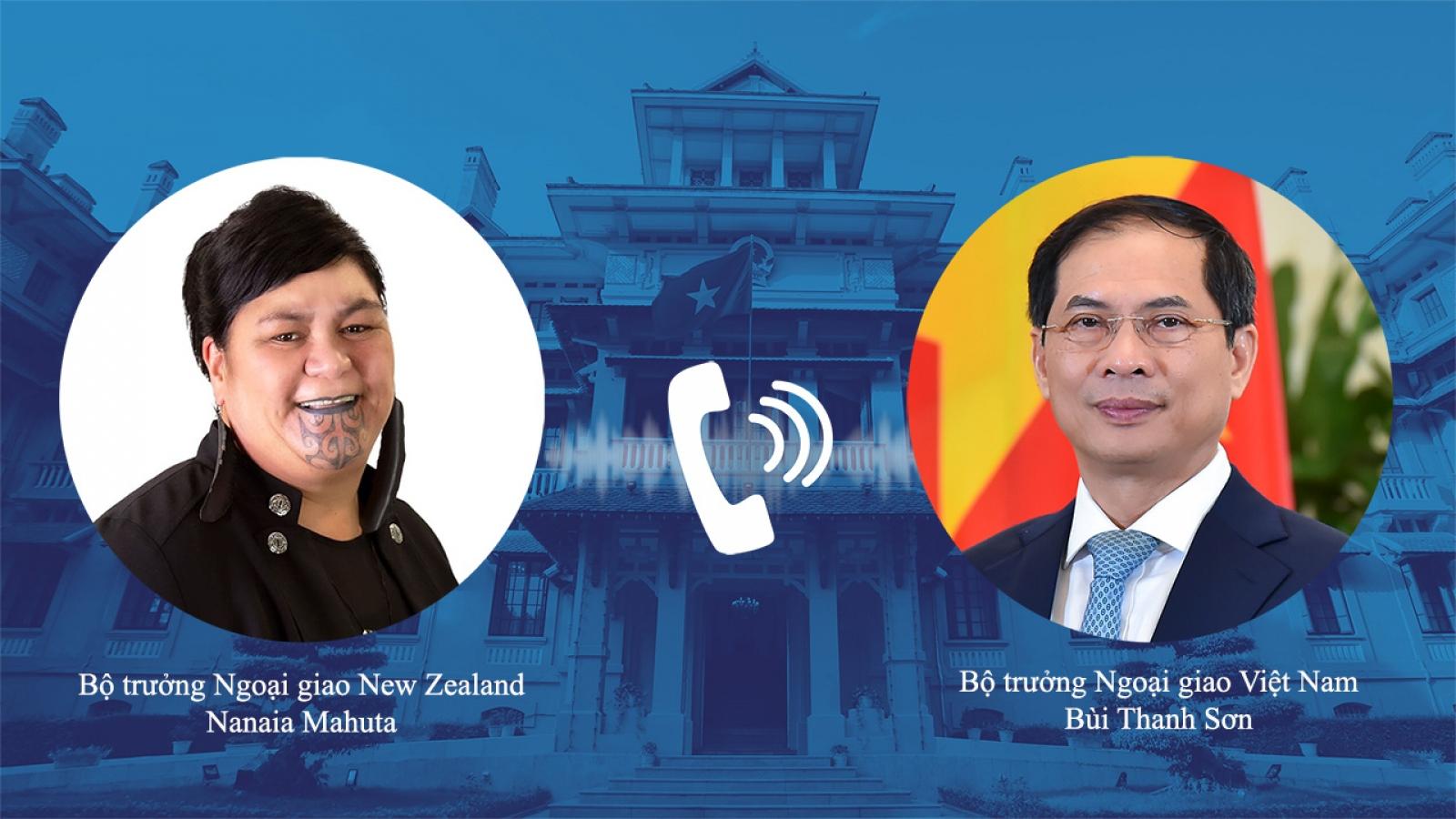 Đề nghị New Zealand tiếp tục hỗ trợ Việt Nam về vaccine và thiết bị y tế