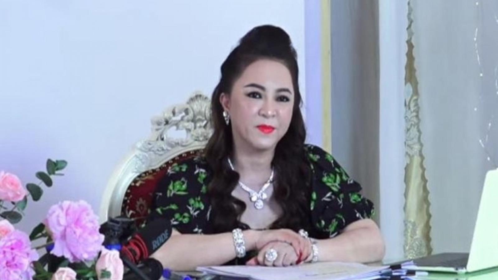 Bà Nguyễn Phương Hằng đã đến làm việc với cơ quan điều tra Bộ Công an