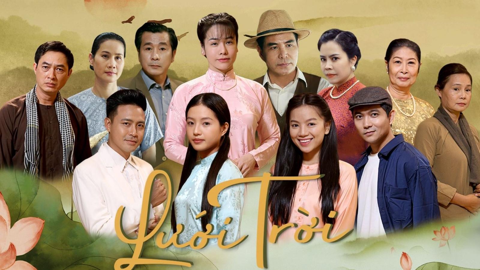 """""""Lưới trời"""" lọt top 10 phim và chương trình giải trí được yêu thích nhất Đông Nam Bộ"""