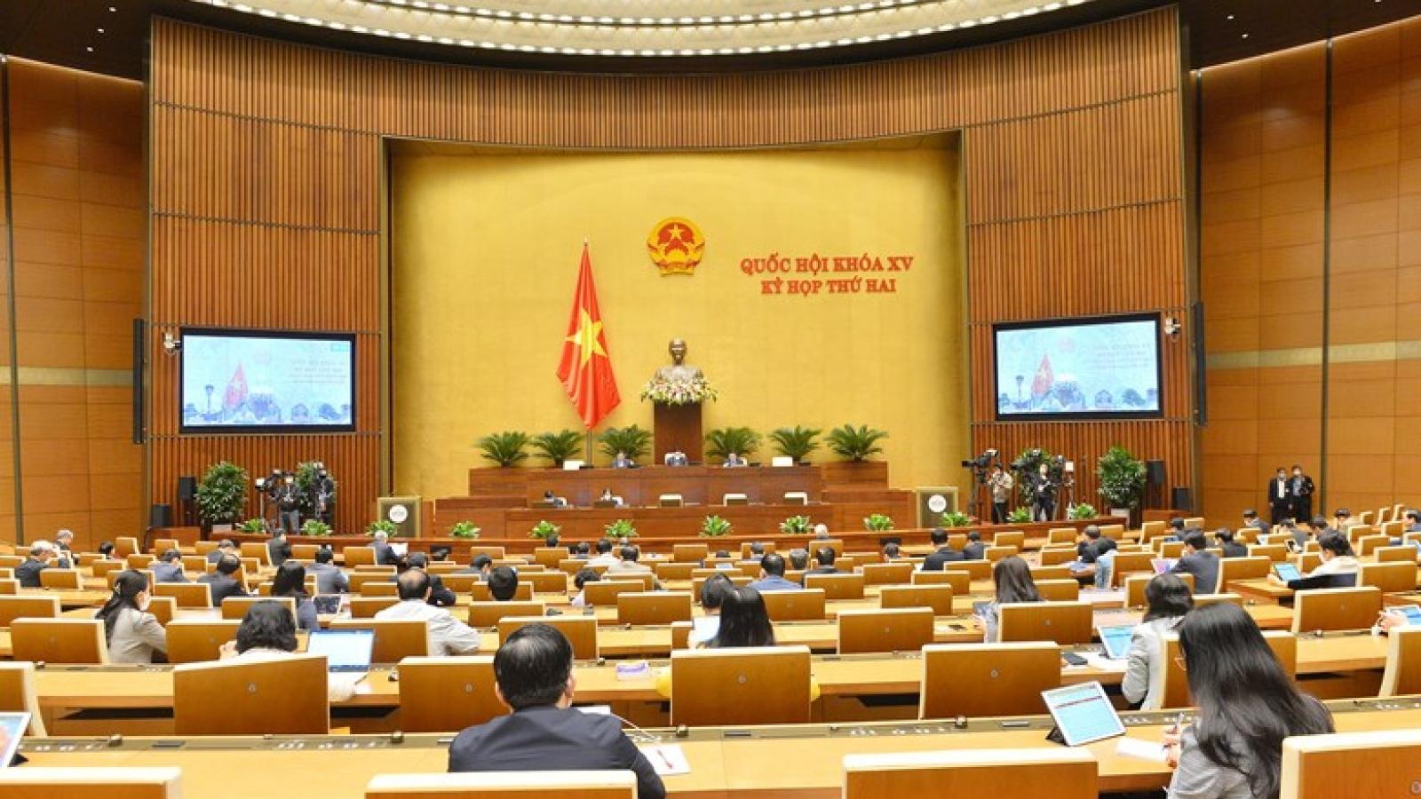 Quốc hội sẽ bàn về cơ cấu lại nền kinh tế và sử dụng đất quốc gia