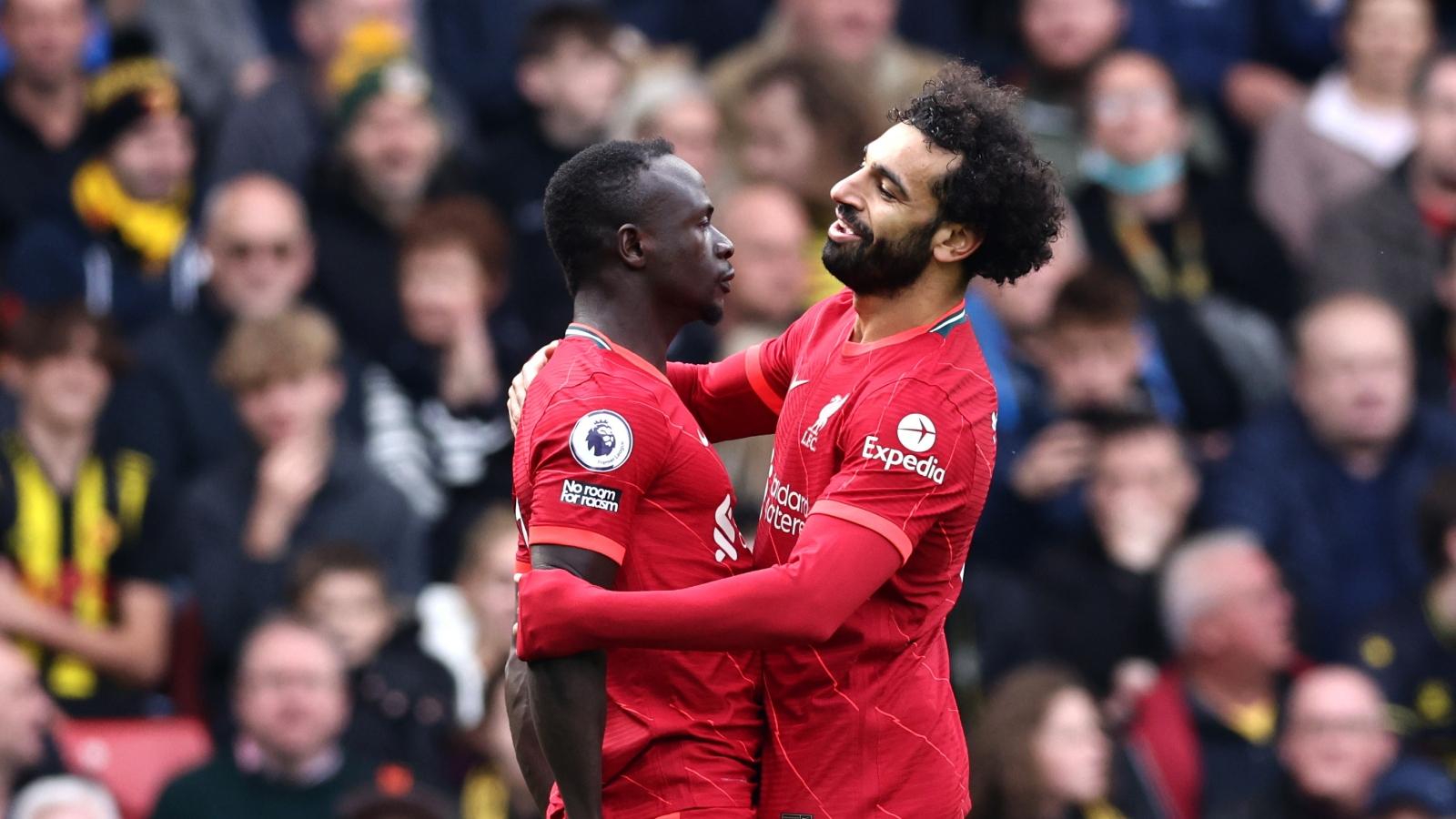 """Trực tiếp Watford 0-1 Liverpool: """"Siêu nhân"""" Salah đóng vai kiến tạo"""