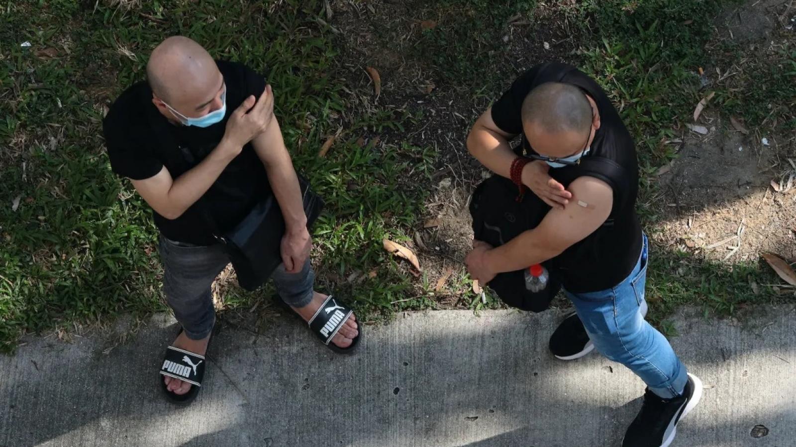 Singapore loay hoay với số ca mắc Covid-19 cao kỷ lục dù đã tiêm chủng 84% dân số