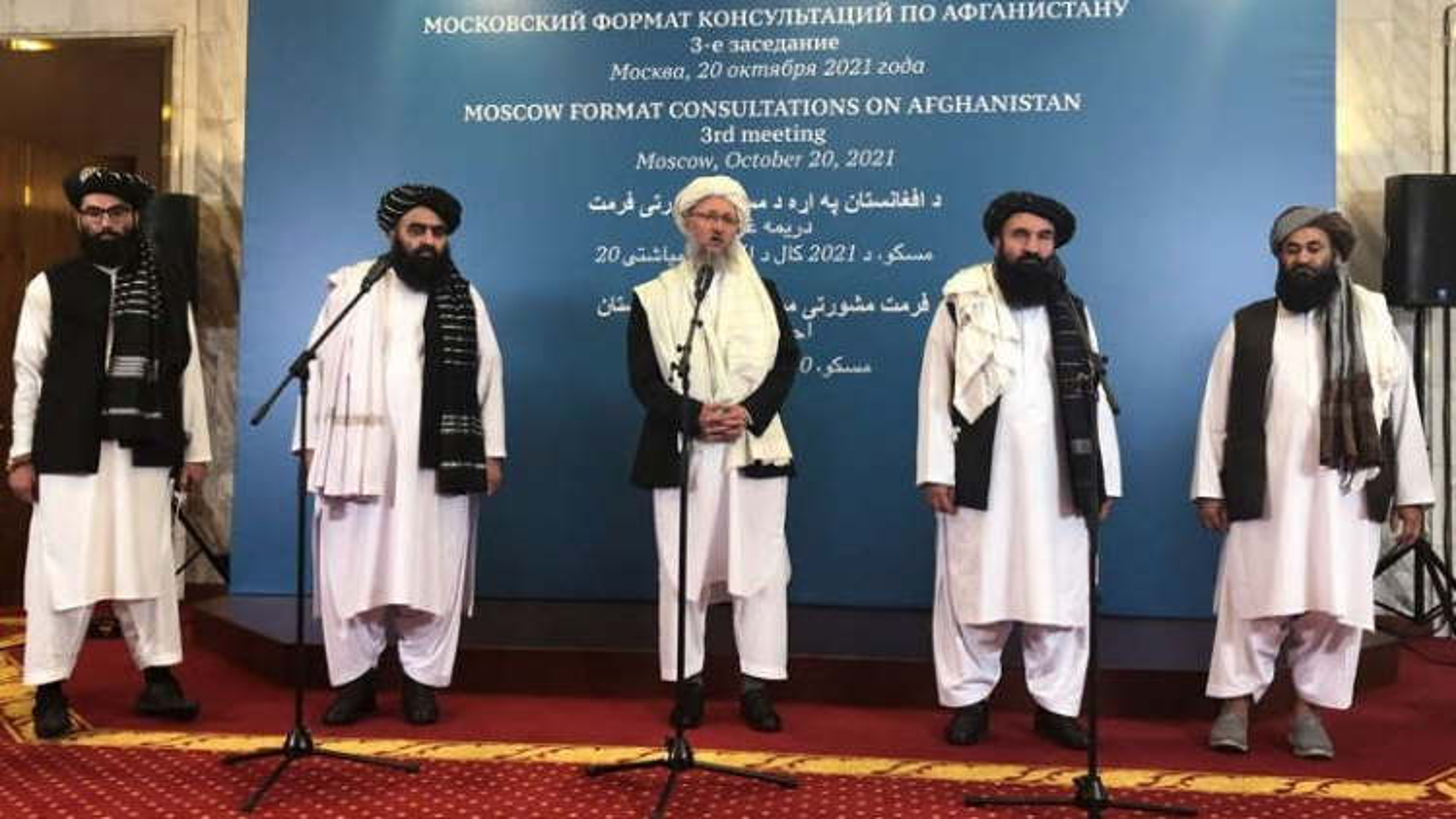 Nga tính đưa Taliban khỏi danh sách khủng bố