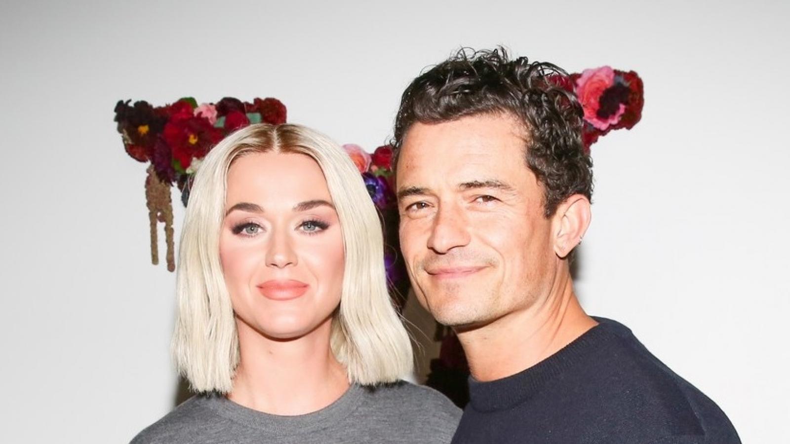 Orlando Bloom - Katy Perry thân mật đi dự tiệc tối