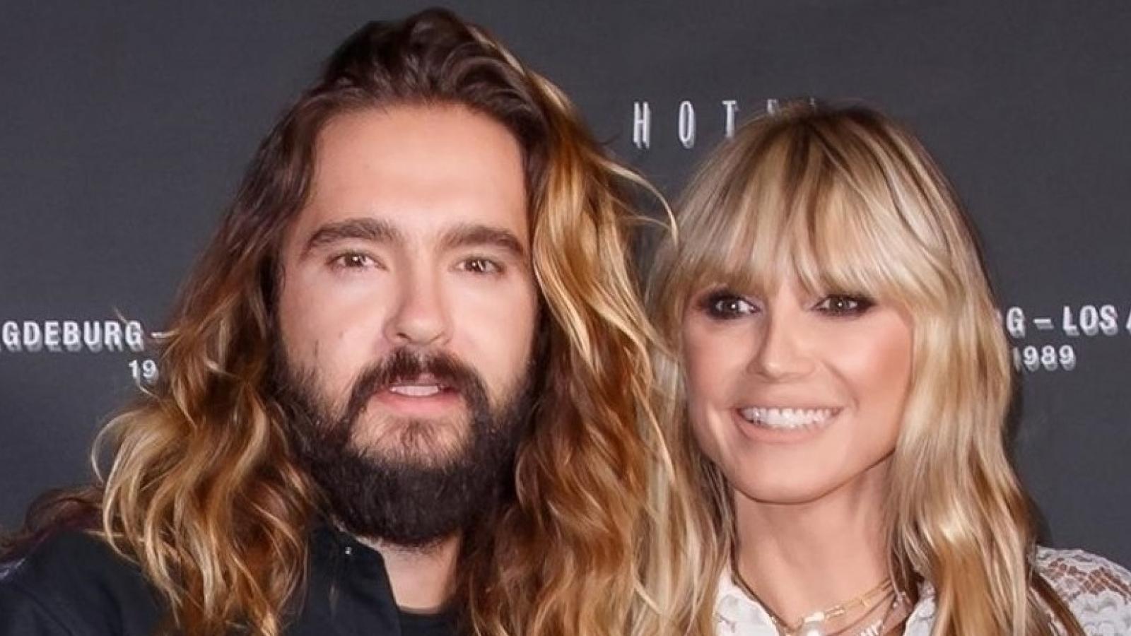"""""""Thiên thần"""" Heidi Klum sánh đôi tình tứ bên chồng trẻ tại tiệc ra mắt sản phẩm âm nhạc"""