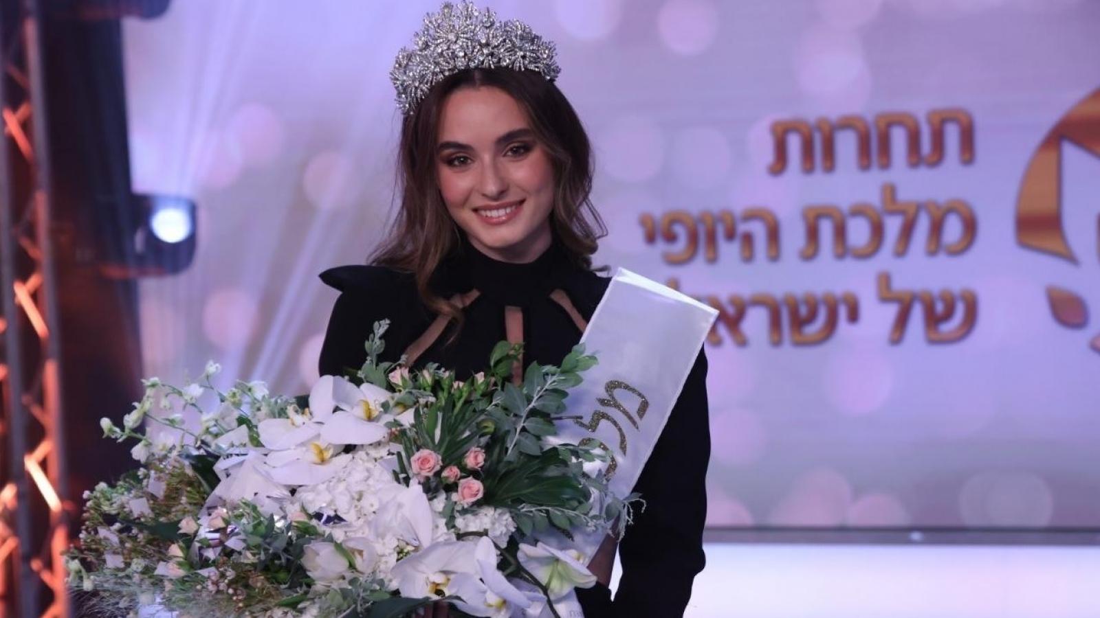 Nhan sắc nữ bác sĩ đăng quang Hoa hậu Israel 2021