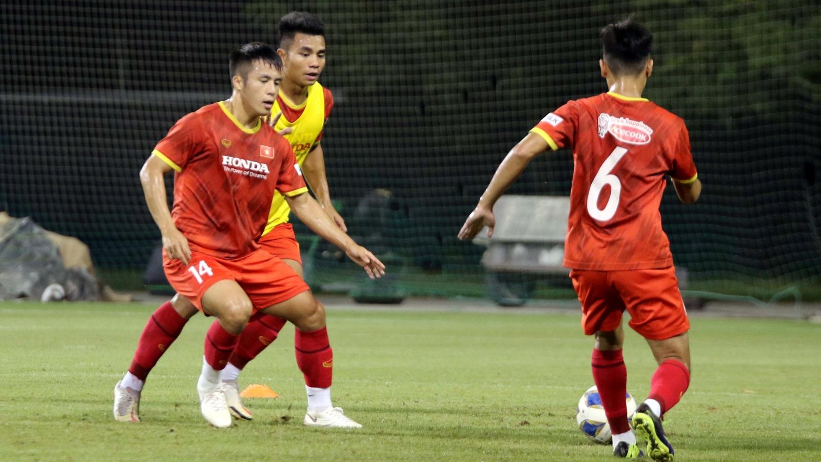 U23 Việt Nam được HLV Park Hang Seo truyền bí kíp trước trận gặp U23 Kyrgyzstan