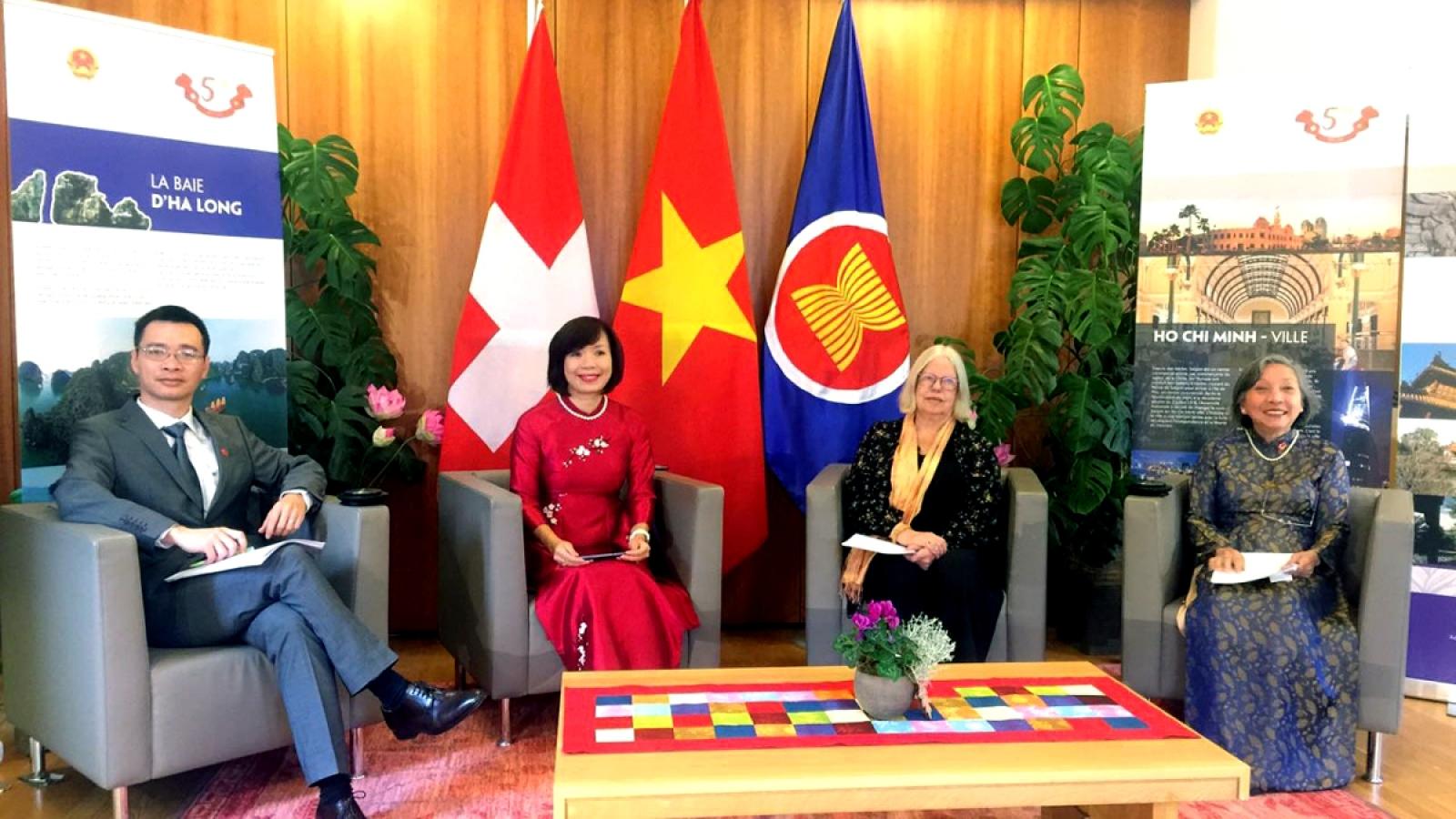 Vietnam Day in Switzerland 2021 promotes bilateral relations