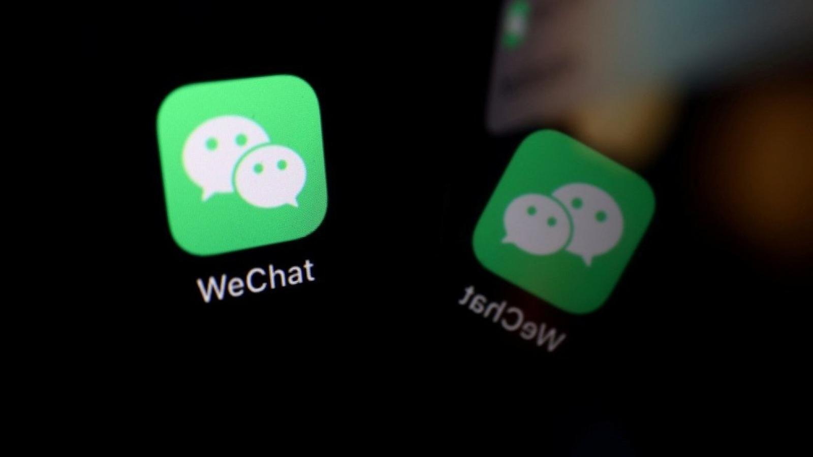 Ứng dụng WeChat của Trung Quốc bị phát hiện 'lén' xem kho ảnh của người dùng