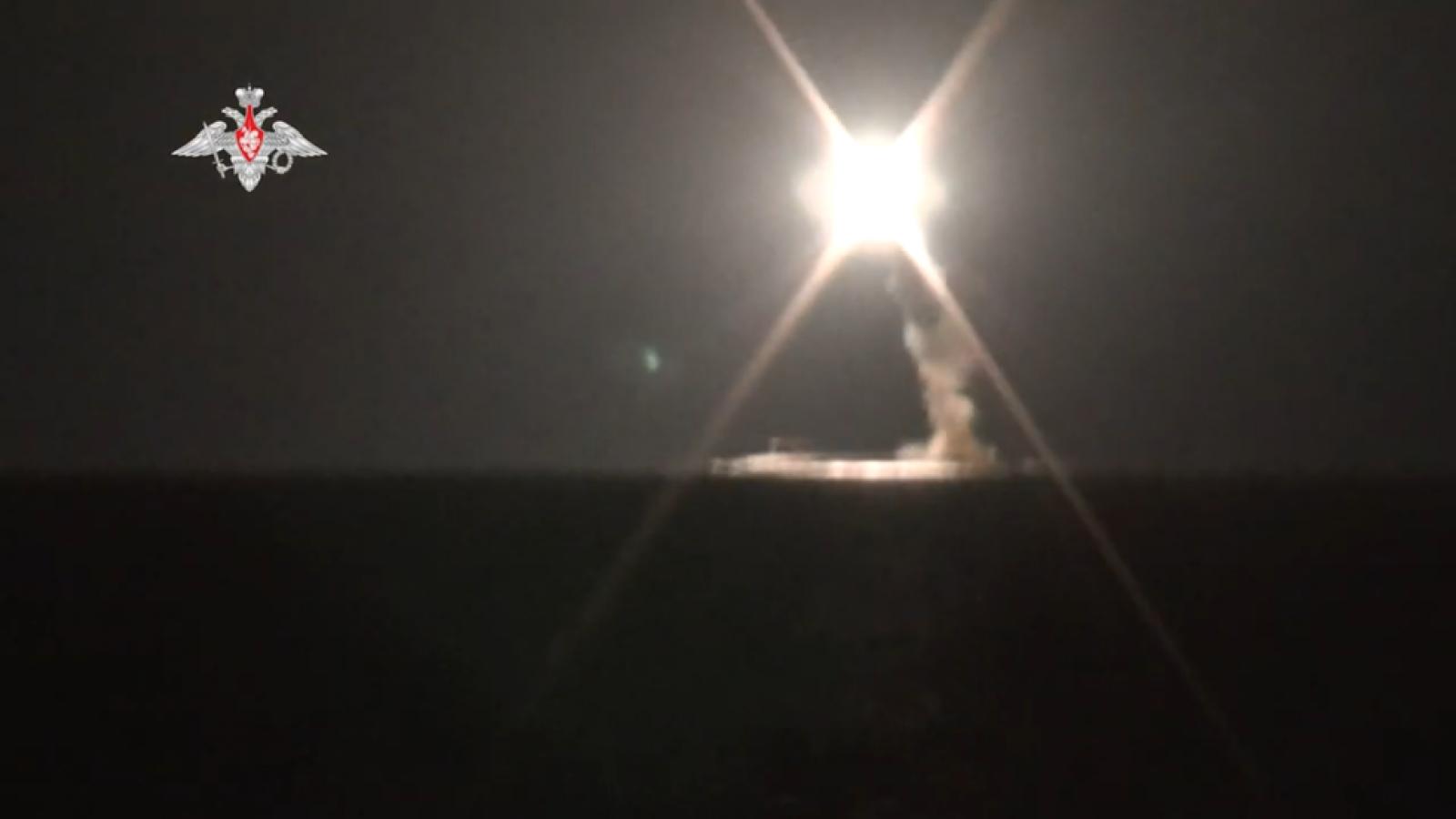 Hải quân Nga phóng thành công tên lửa siêu thanh Zircon từ tàu ngầm hạt nhân