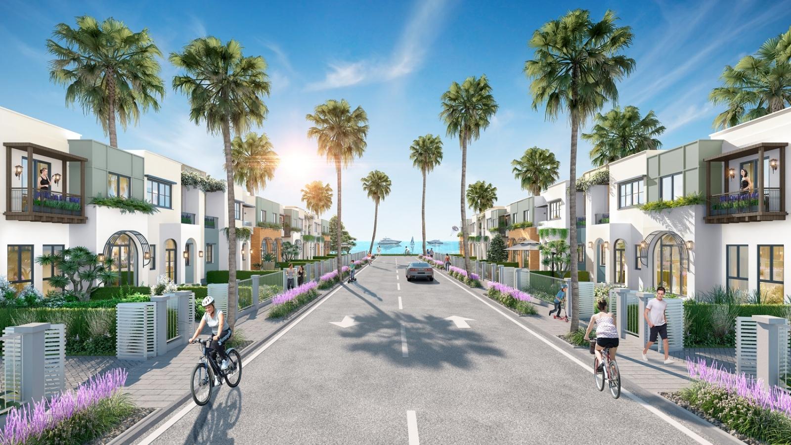 Compound giữa lòng siêu đô thị biển mở ra cơ hội an cư mới