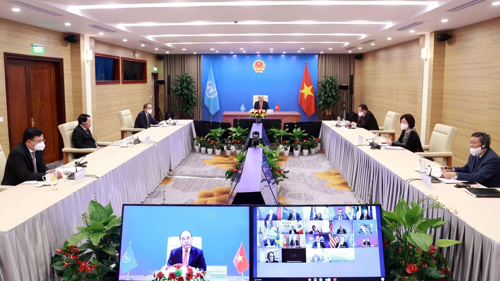Chủ tịch nước đề xuất nhiều giải pháp giải quyết các thách thức tại châu Phi