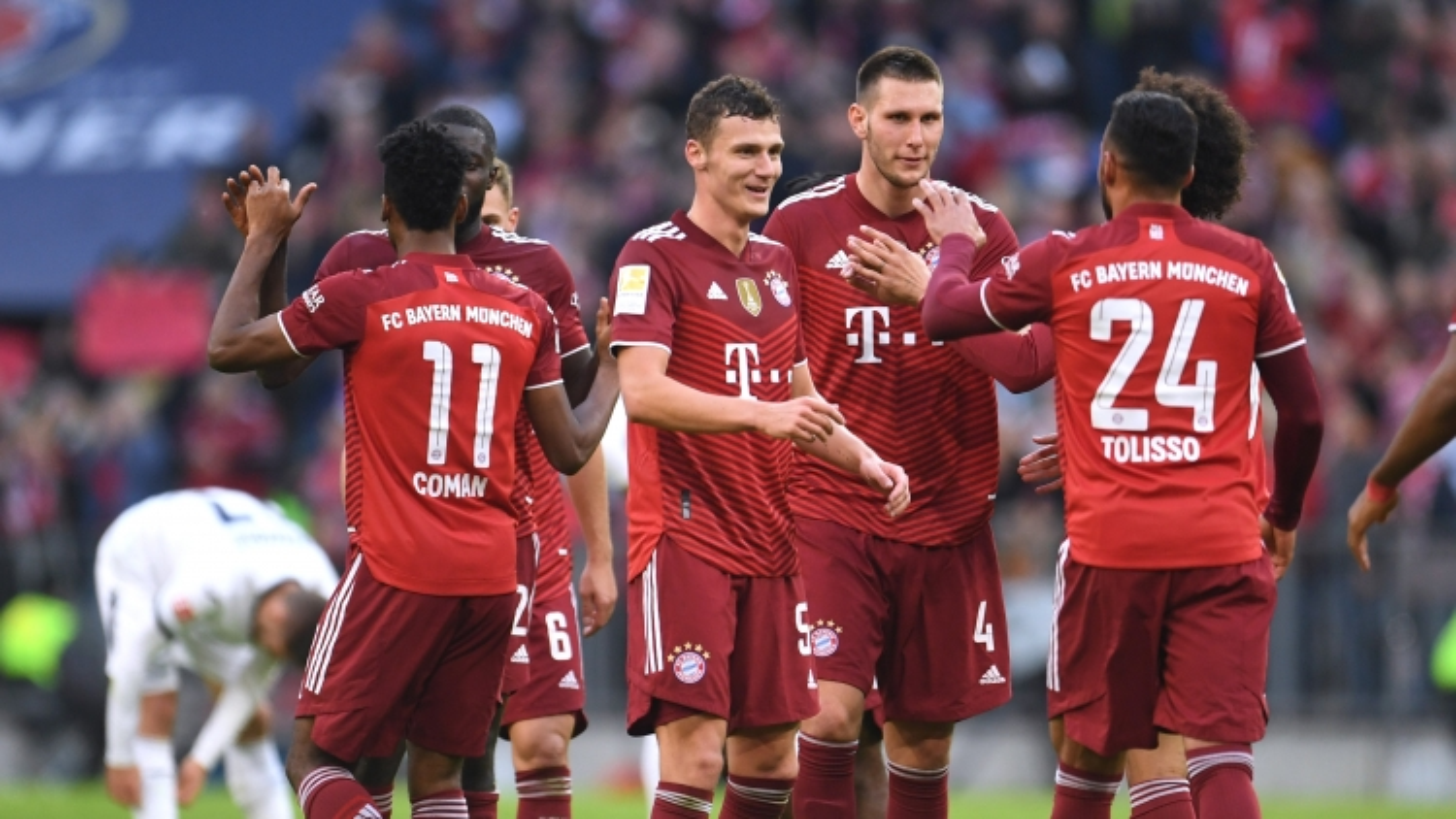 Thắng đậm Hoffenheim, Bayern Munich duy trì ngôi đầu Bundesliga