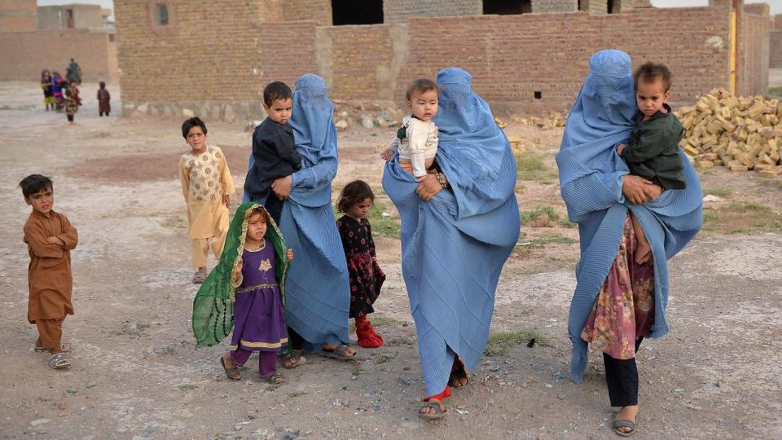 Liên Hợp Quốckêu gọi quốc tế khẩn cấpviện trợ cho Afghanistannhư cam kết