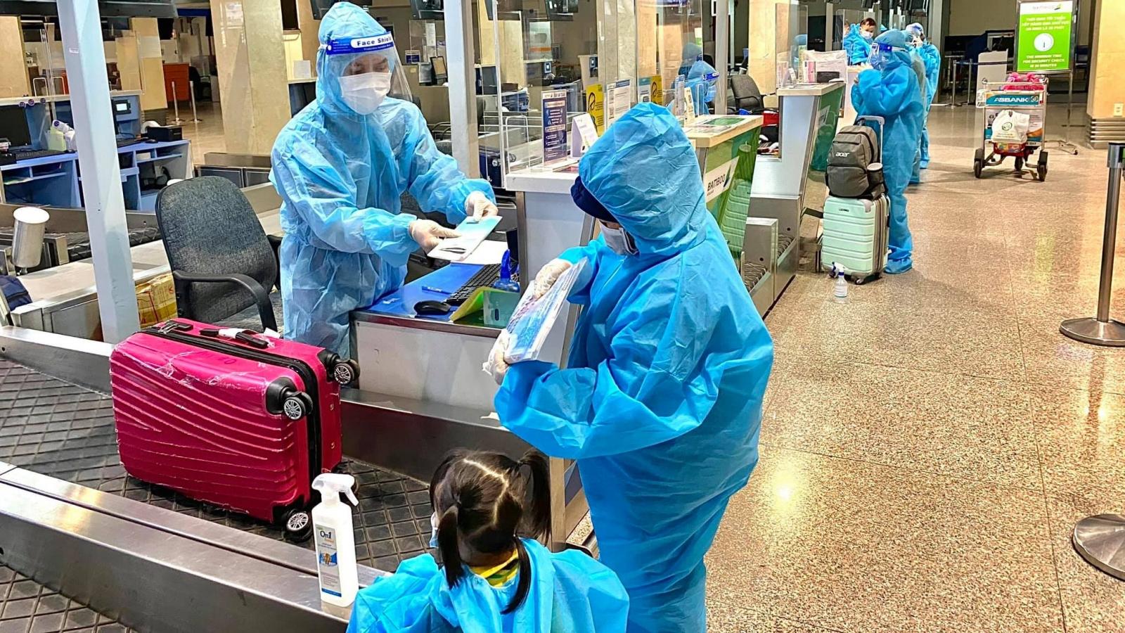 200 công dân Vĩnh Phúc về quê trên chuyến bay đặc biệt của Bamboo Airways