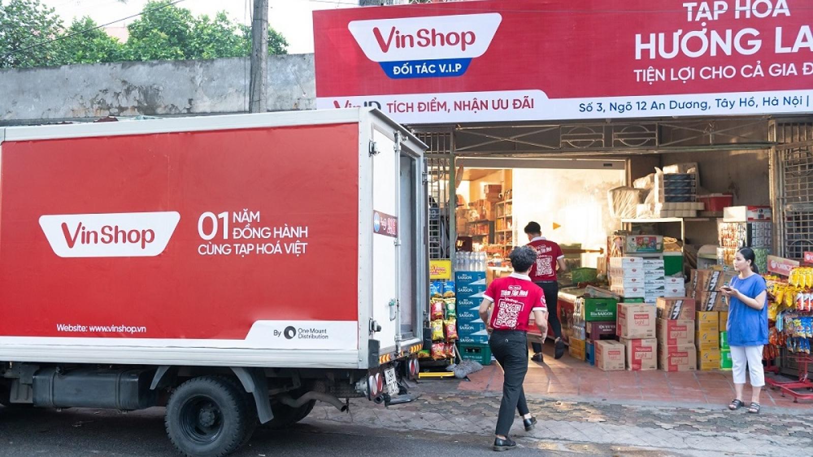 """3 bí quyết """"vàng"""" chinh phục 80.000 tạp hóa Việt của VinShop"""