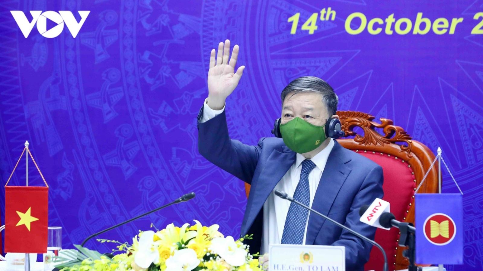 """Bộ trưởng Bộ Công an Tô Lâm: """"Việt Nam không khoan nhượng với tội phạm ma túy"""""""