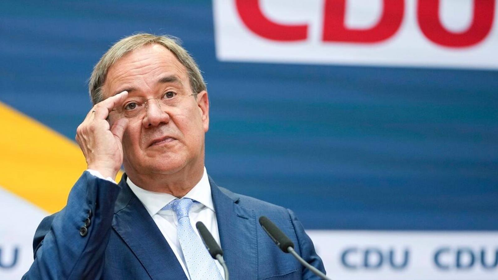 Lãnh đạo CDU Armin Laschet sẵn sàng từ chức sau thất bại trong cuộc bầu cử Đức