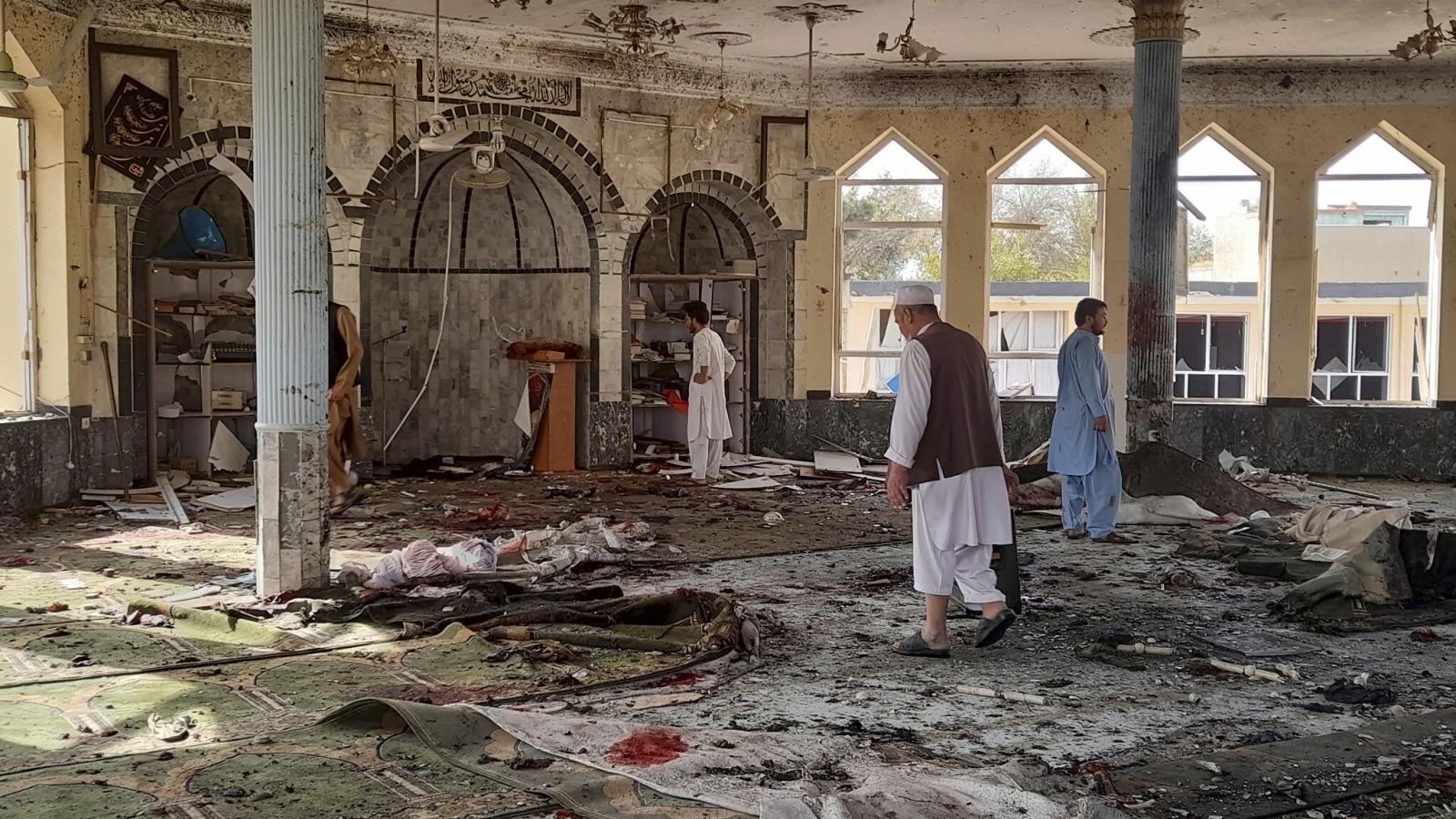 IS nhận trách nhiệm vụ đánh bom nhà thờ Hồi giáo ở Afghanistan
