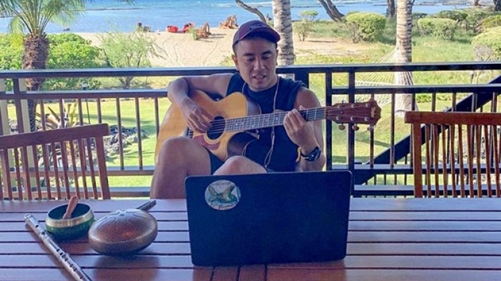 Vietnamese American jazz artist enthuses over music teaching